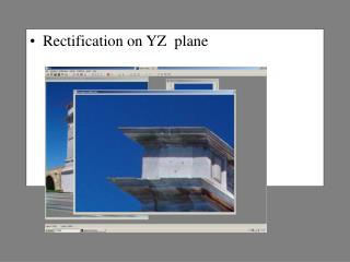 Rectification on YZ  plane