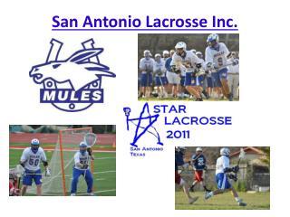 San Antonio Lacrosse Inc.