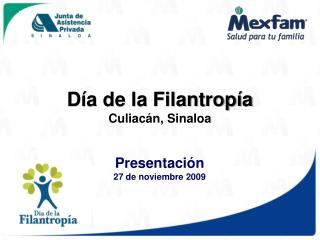 Presentaci n 27 de noviembre 2009