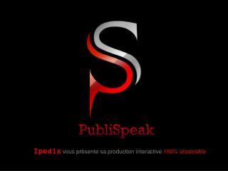PDF accessible & catalogue interactif - PubliSpeak