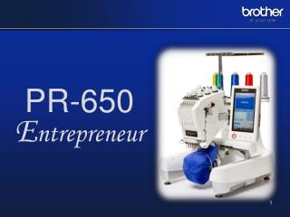 PR-650 Entrepreneur
