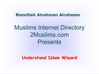 Muslims Internet Directory 2Muslims Presents