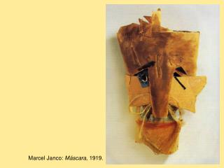 Marcel Janco: M scara, 1919.