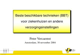 Peter Vercaemst Amsterdam, 30 november 2004