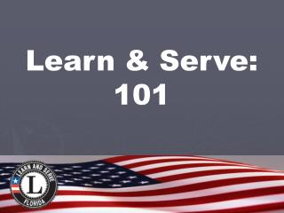 Learn  Serve: 101