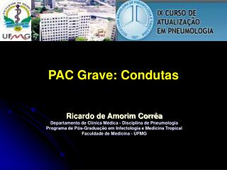 PAC Grave: Condutas