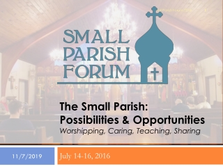 FUNDING OF CHURCH PROGRAMS AND ECONOMIC PROGRESS FOR PARISHIONERS