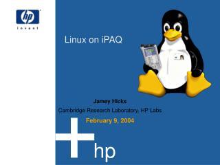 Linux on iPAQ