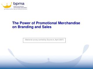 The Power of Promotional Merchandise  on Branding and Sales