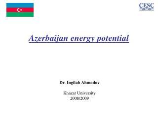 Azerbaijan energy potential