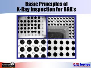 Basic Principles of  X-Ray Inspection for BGA s
