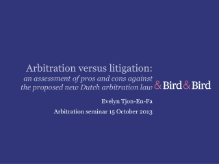 SEEKING THE REWARDS OF ARBITRATION OVER LITIGATION IT S ALL IN THE DRAFTNG