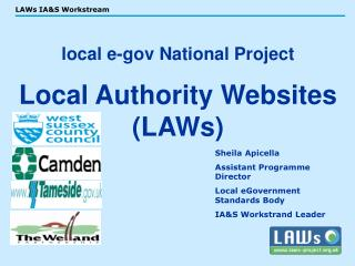 Local e-gov National Project  Local Authority Websites LAWs