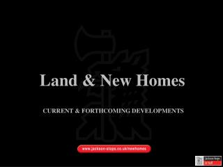 Land  New Homes