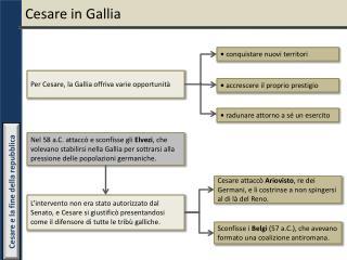 Cesare in Gallia