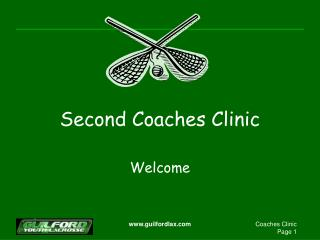 Second Coaches Clinic
