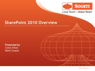 SharePoint 2010 Overview Slide Deck - Sogeti PowerPoint Template ...