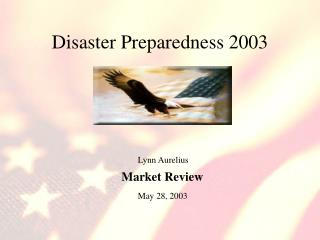 Disaster Preparedness 2003
