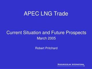 APEC LNG Trade