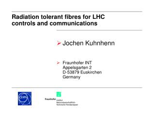 Radiation tolerant fibres for LHC  controls and communications