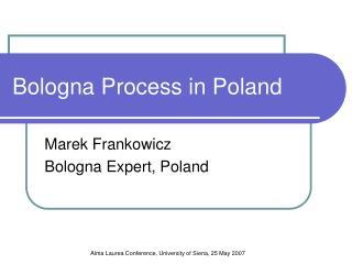 Bologna Process in Poland