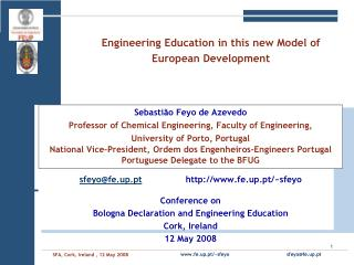 Engineering Education in this new Model of European Development