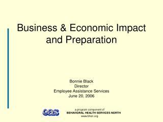 Business  Economic Impact and Preparation