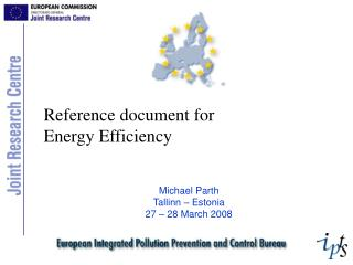 Reference document for  Energy Efficiency