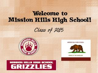 Welcome to  Mission Hills High School