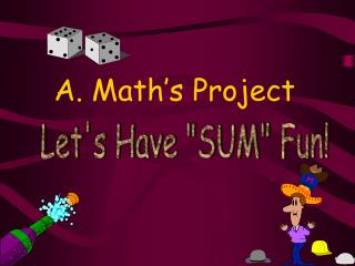 A. Math s Project