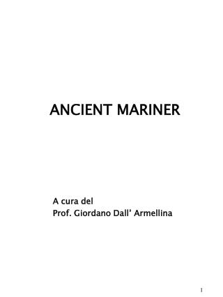 ANCIENT MARINER