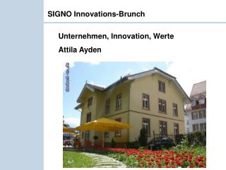 SIGNO Innovations-Brunch