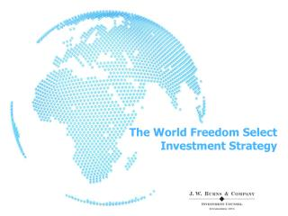 The World Freedom Select Investment Strategy