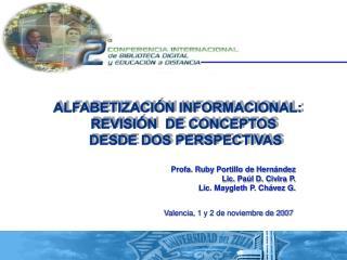 ALFABETIZACI N INFORMACIONAL:     REVISI N  DE CONCEPTOS  DESDE DOS PERSPECTIVAS