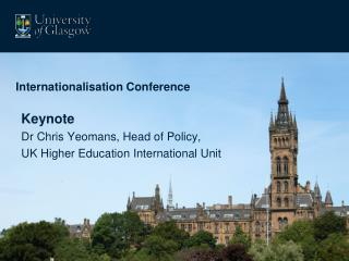 Internationalisation Conference