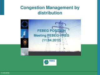 Congestion Management by distribution