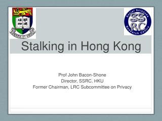 Stalking in Hong Kong