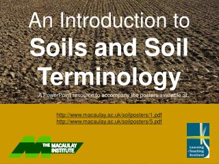 An Introduction to Soils and Soil Terminology