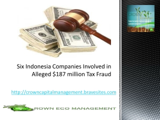Crown Capital Eco Management - Companies Involved in million
