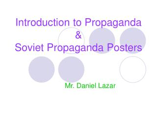 Introduction to Propaganda   Soviet Propaganda Posters