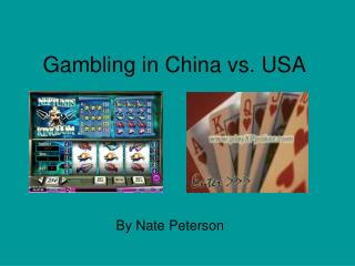 Gambling in China vs. USA