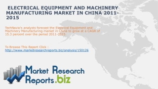 China Electrical Equipment and Machinery Manufacturing Mark