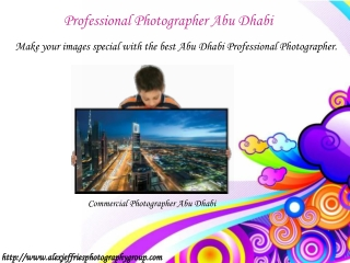 Professional Photographer Abu Dhabi