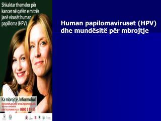 Human papilomaviruset HPV