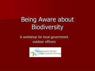 A workshop for local government  outdoor officers