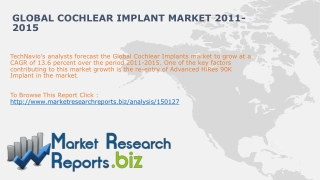 Global Cochlear Implant Market 2011-2015
