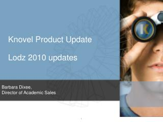 Knovel Product Update  Lodz 2010 updates