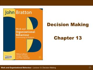 Decision Making  Chapter 13