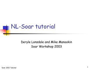 NL-Soar tutorial