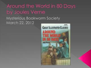 Around the World in 80 Days by Joules Verne